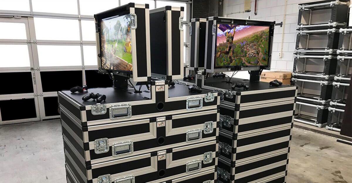 Fortnite LAN-party met WePlay Esports